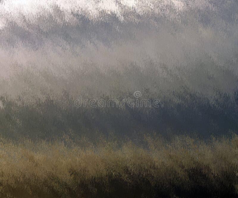 Cyfrowego obrazu Abstrakcjonistyczny Kolorowy tło w Różnych cieniach Szarzy kolory ilustracja wektor