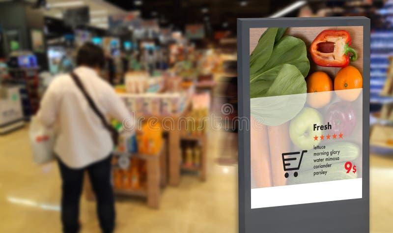 cyfrowego pokazu Cyfrowego Inteligentnego moniter Interaktywny artifici zdjęcia royalty free
