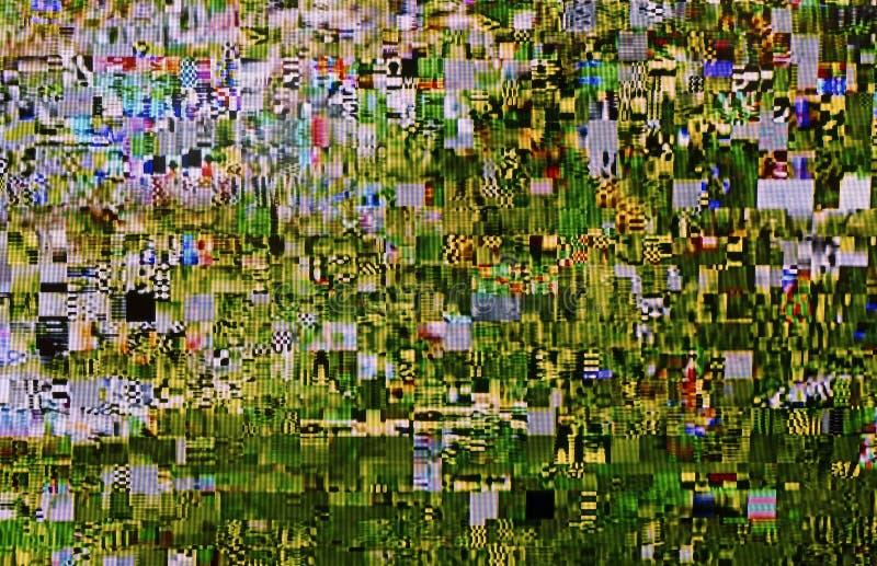 Cyfrowego TV hałas obrazy royalty free