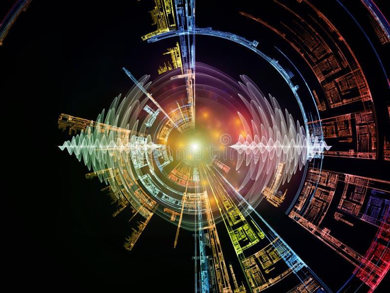 Cyfrowej energia ilustracja wektor