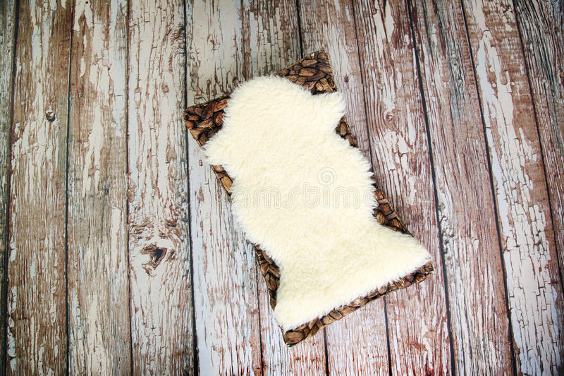 Cyfrowej fotografii tło Nieociosana Drewniana podłoga I Nowonarodzony wsparcie obrazy stock
