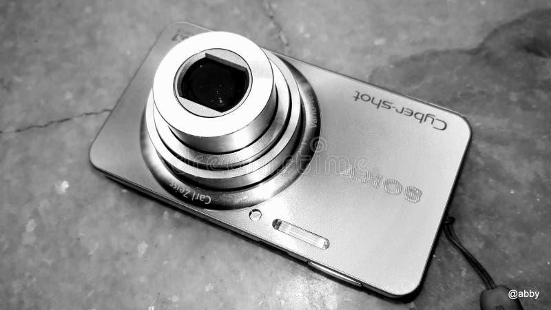 Cyfrowej kamery krótkopęd i punkt obrazy royalty free