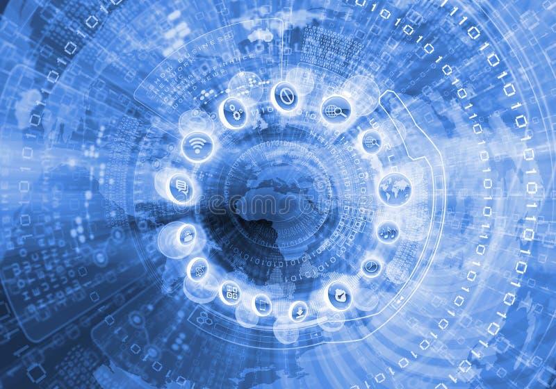 Cyfrowej kuli ziemskiej wizerunek zdjęcia stock