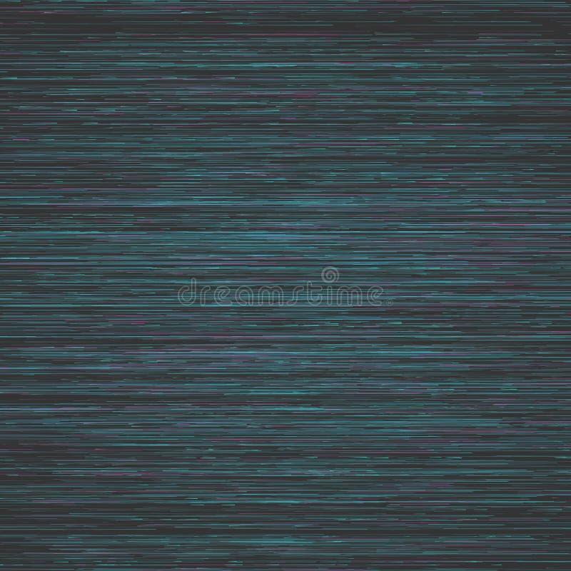 Cyfrowej usterki wektoru tło Wektor Zniekształcająca Sygnałowa Duża dane szkoda ilustracja wektor