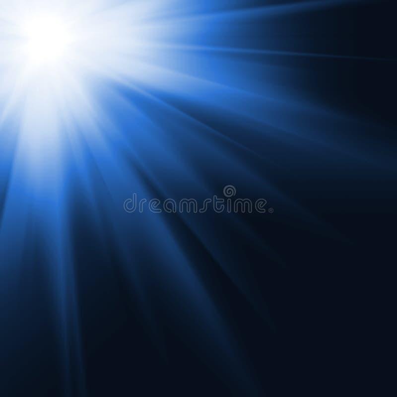 cyfrowo wytwarzający wizerunku słońce ilustracja wektor