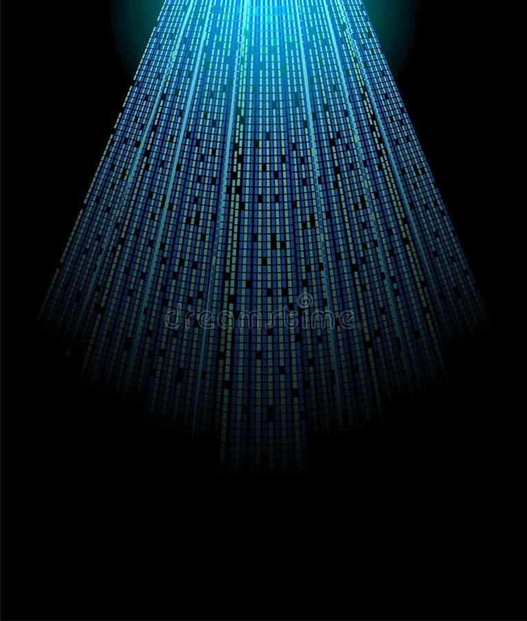 cyfrowy światło ilustracja wektor
