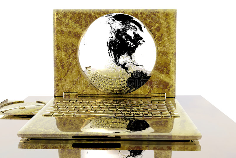 cyfrowy świat ilustracja wektor