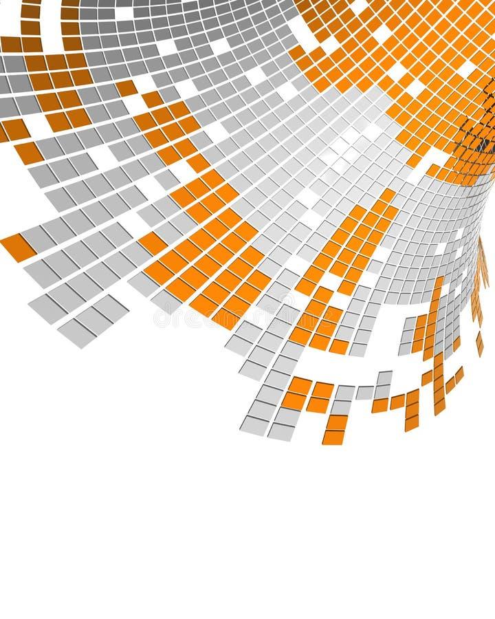 cyfrowy dane strumień royalty ilustracja