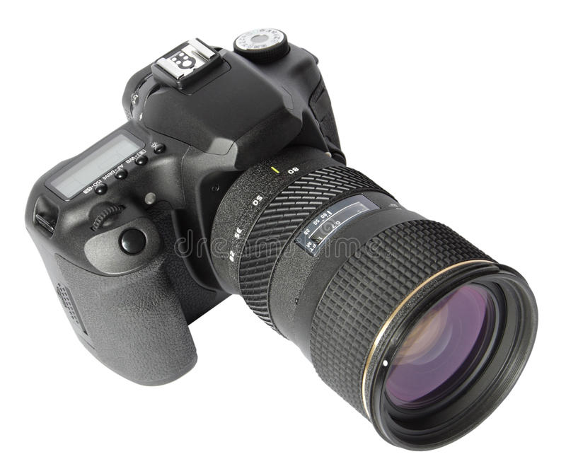 cyfrowy kamery slr obrazy stock