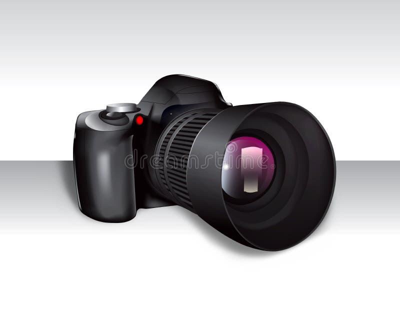 cyfrowy kamery slr ilustracji