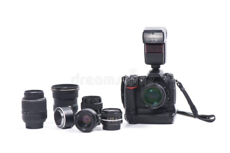 cyfrowy kamery wyposażenie zdjęcia royalty free