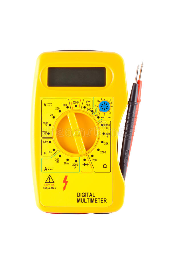 Cyfrowy multimeter obrazy stock
