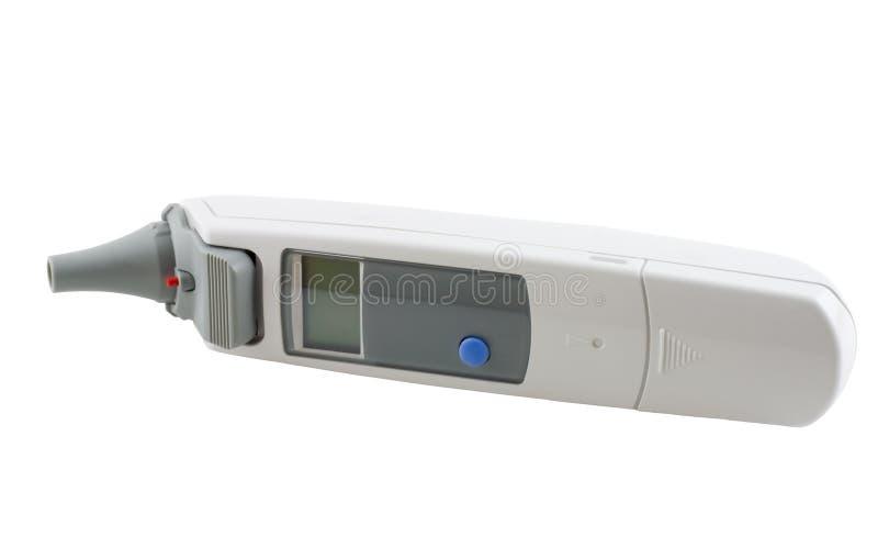 cyfrowy termometr fotografia royalty free