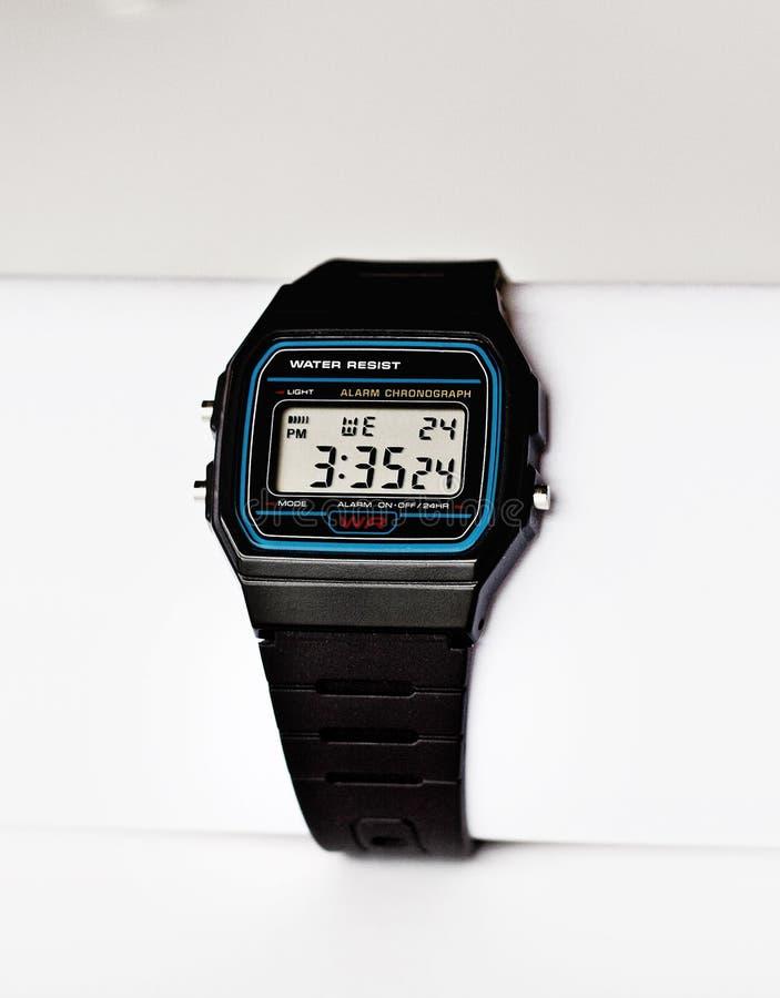 cyfrowy zegarek zdjęcie royalty free