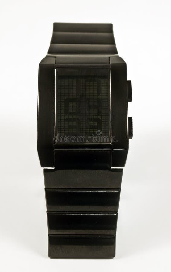 cyfrowy zegarek zdjęcie stock