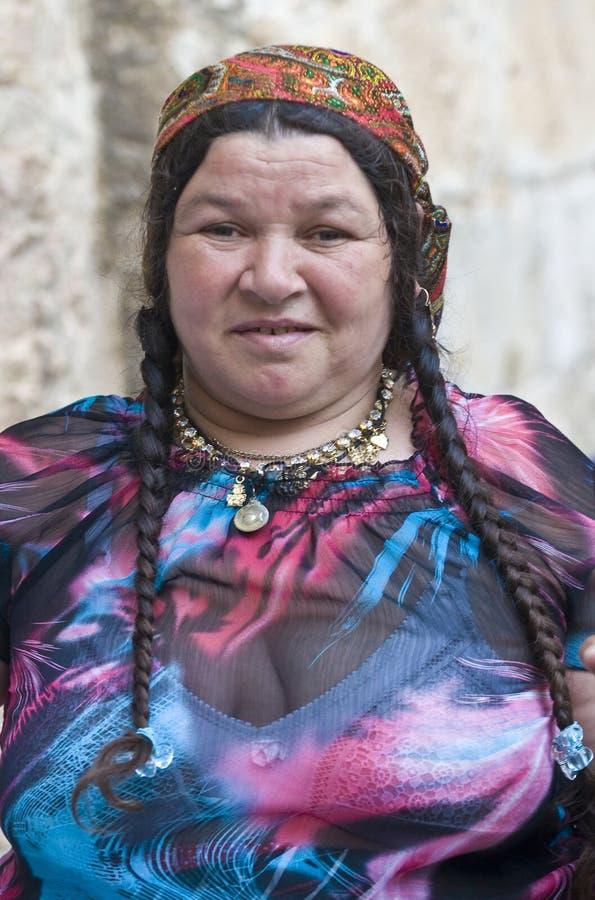 Cygański pielgrzym obraz royalty free