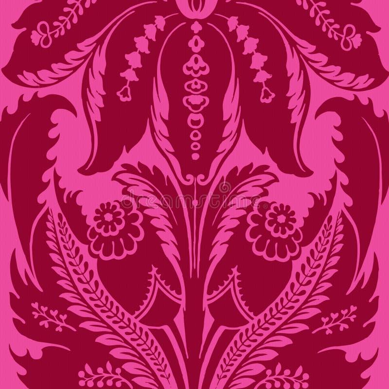 cyganka tła artystyczny ostry kwiecisty styl ilustracja wektor