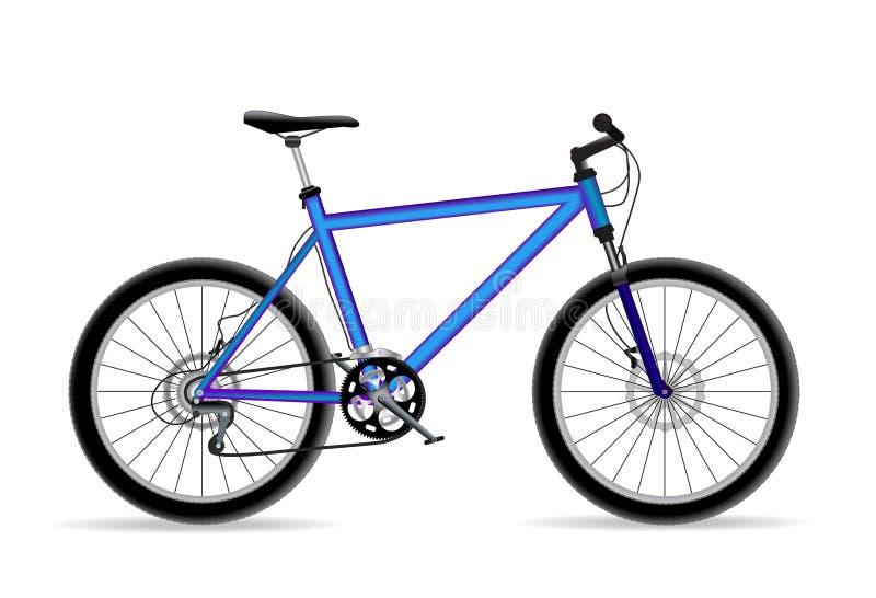 cykel vektor illustrationer