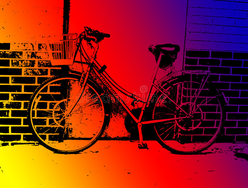 Cykel I Ilford Royaltyfri Fotografi