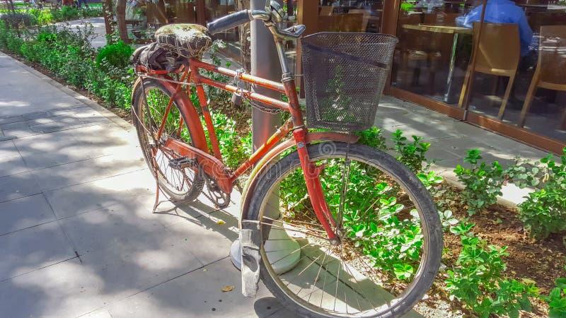 cykel 195-Red arkivbild