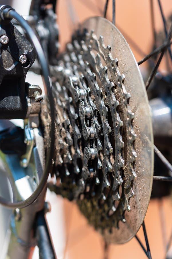 Cykel som det huvudsakliga temat i dessa foto arkivbilder