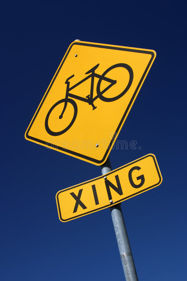 cykel som xing arkivfoton