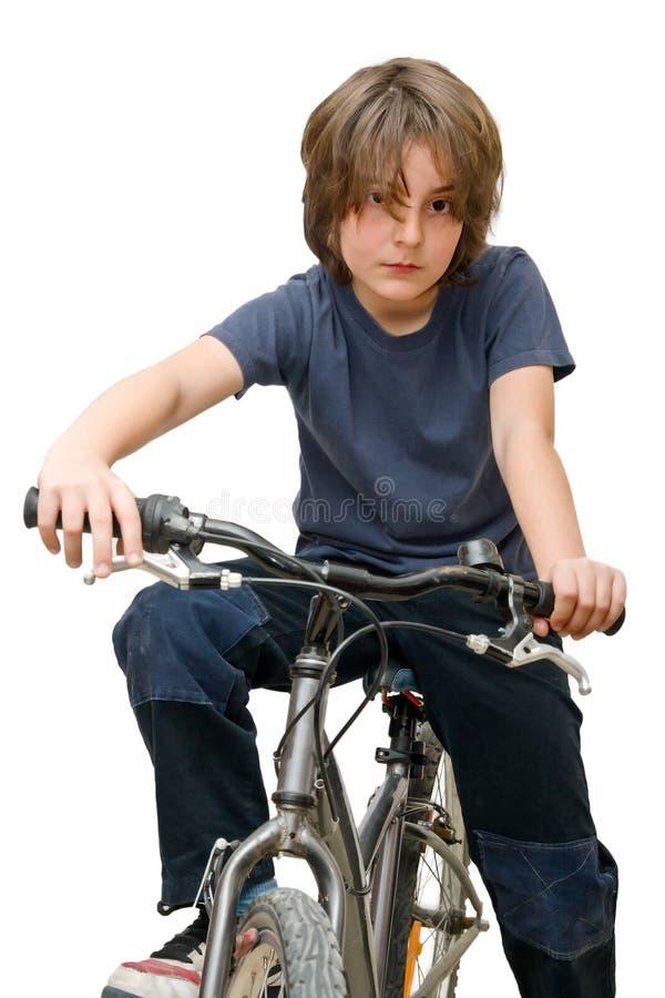 cykelbarn royaltyfria foton