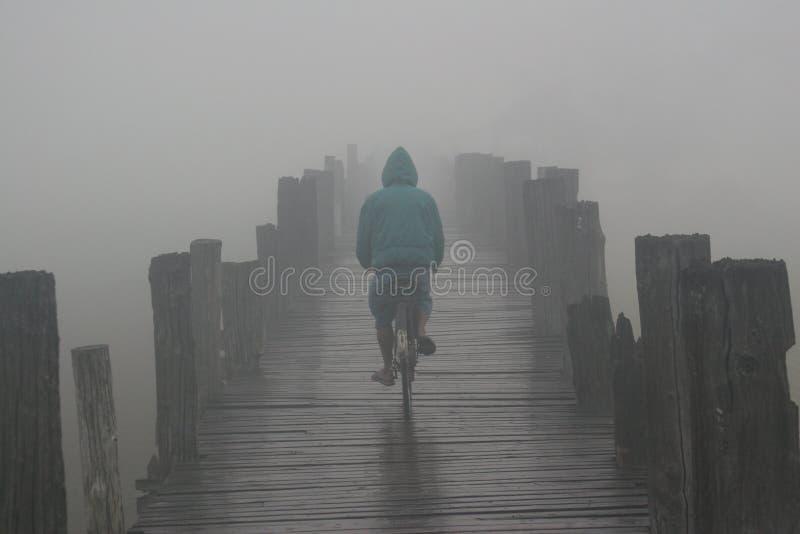 cykelbrodimma royaltyfria bilder