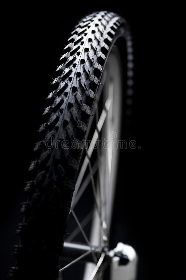 cykeldäck royaltyfri bild