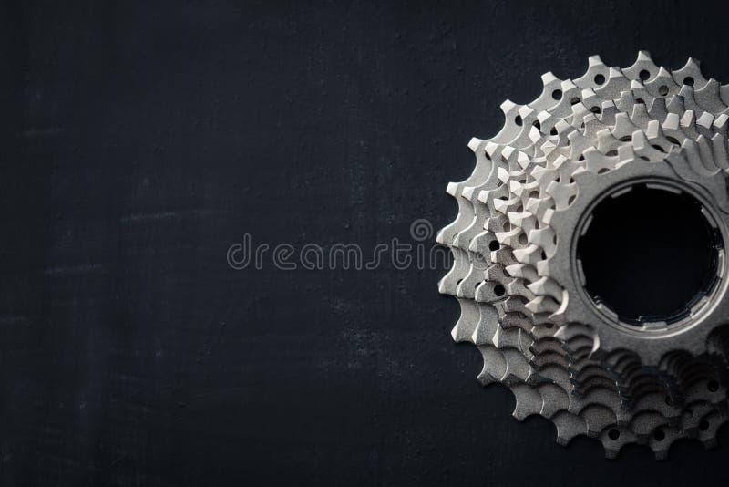 Cykeldelbakgrund arkivfoto