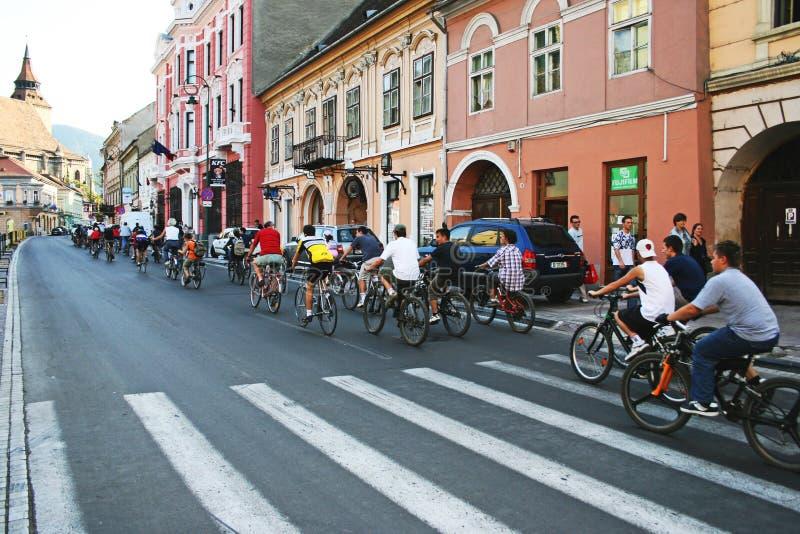 cykelecovänskapsmatchen ståtar trans. arkivfoto