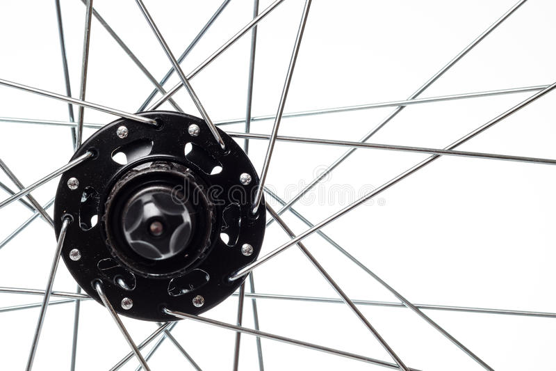 Cykeleker och nav royaltyfri foto