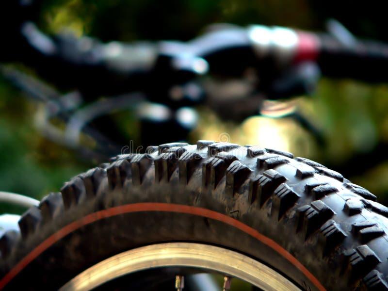 cykelgummihjul arkivfoton