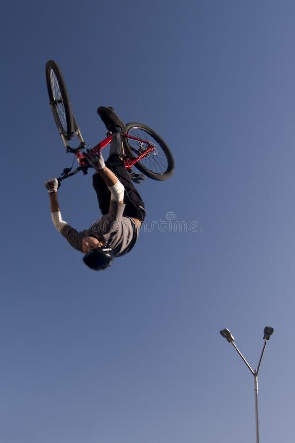 cykelhopp fotografering för bildbyråer
