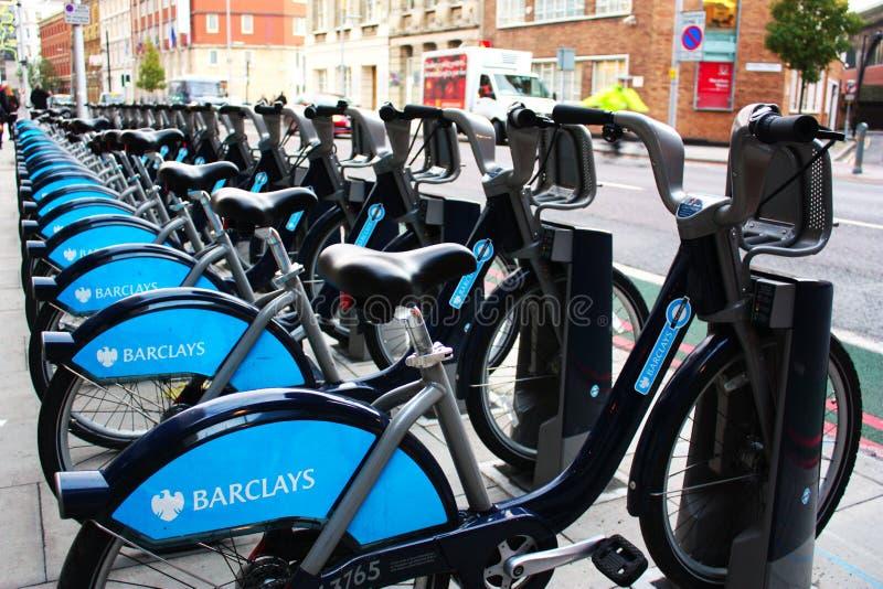 cykelhyra london royaltyfri foto