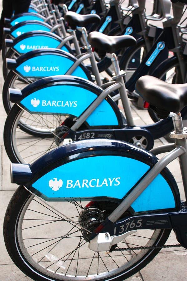 cykelhyra london royaltyfri fotografi