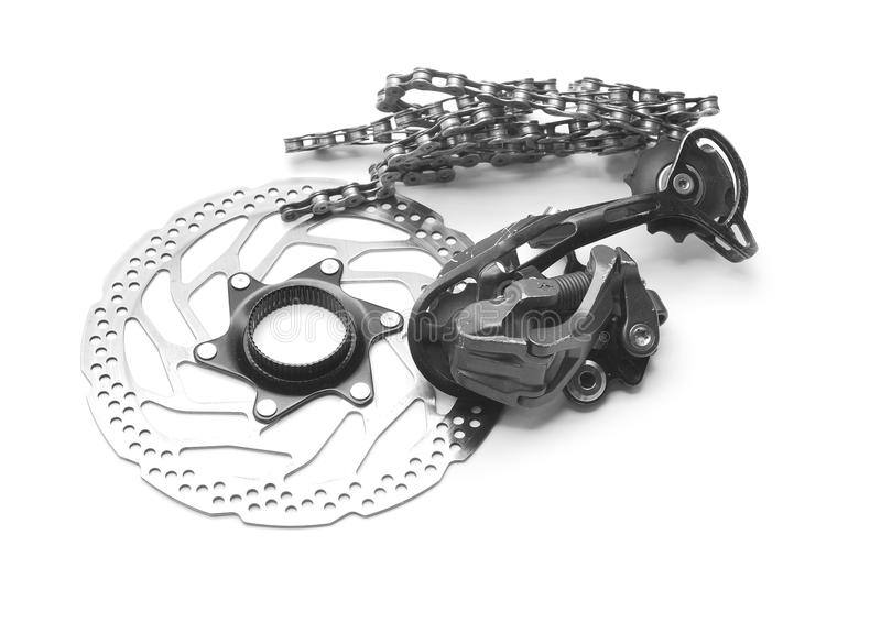 Cykelkugghjul arkivfoto