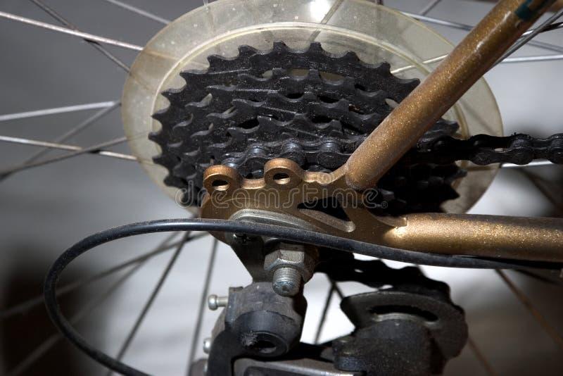 Download Cykelkugghjul arkivfoto. Bild av kuggar, hjul, tänder, eker - 36322