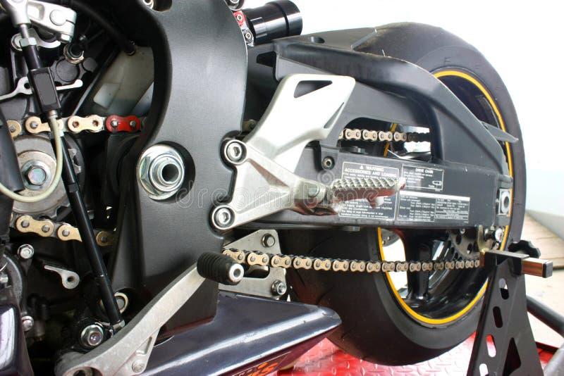 cykelmotor fotografering för bildbyråer