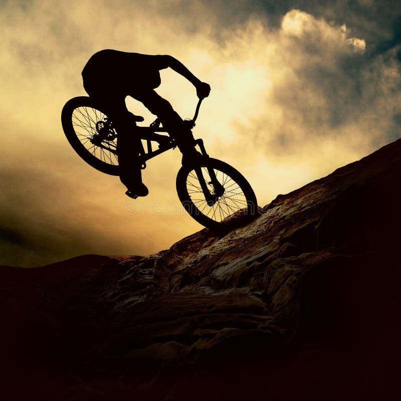 cykelmuontain arkivfoto