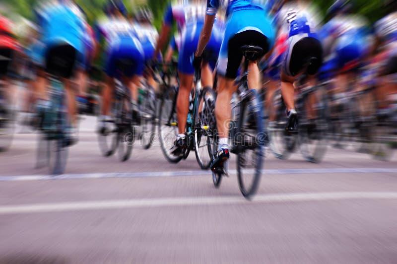 cykelrace royaltyfria bilder