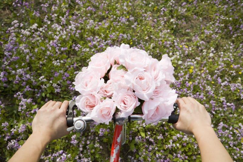 cykelrotur arkivfoto