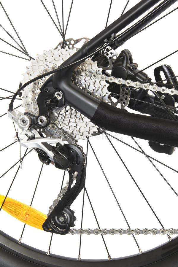 Cykelskivabroms royaltyfri fotografi