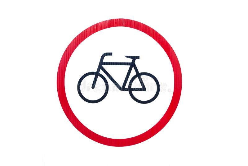 Cykelsymbol arkivbild