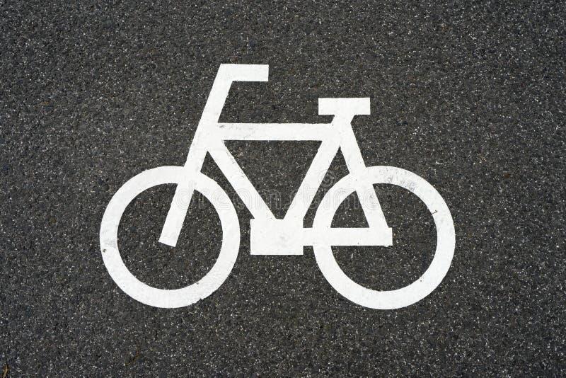 Cykeltecken 3 arkivbild