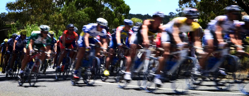cykl wyścig zdjęcie stock