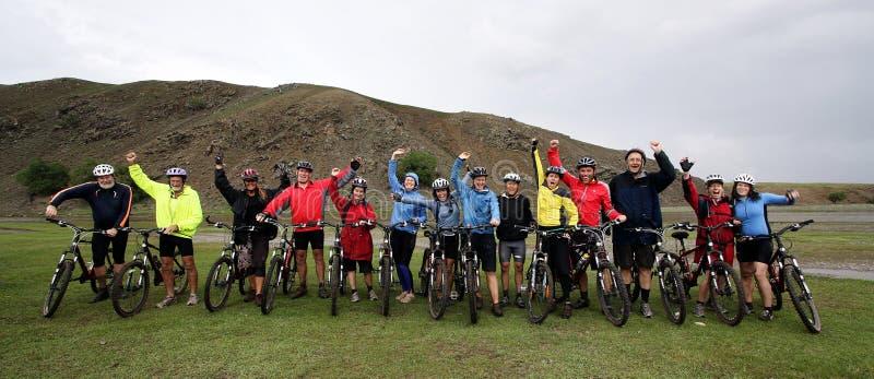 cykla berg för affärsföretag royaltyfri foto