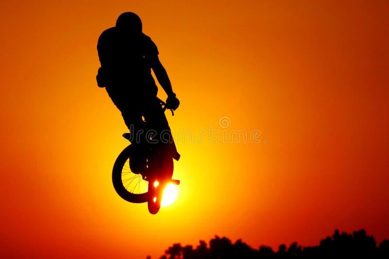 cykla bmx royaltyfria foton