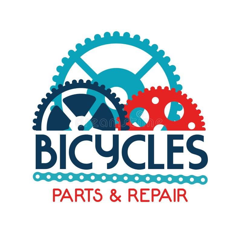 Cykla design royaltyfri illustrationer