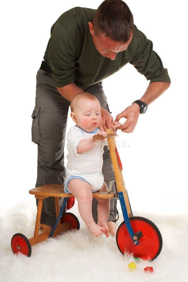 cykla först arkivfoton